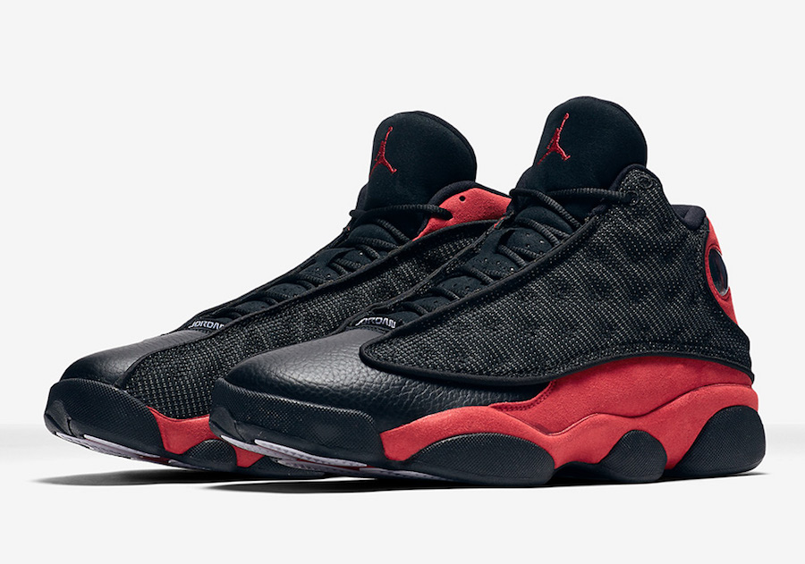 air jordan 13 bred black red 2017 release date sneakerfiles. Black Bedroom Furniture Sets. Home Design Ideas