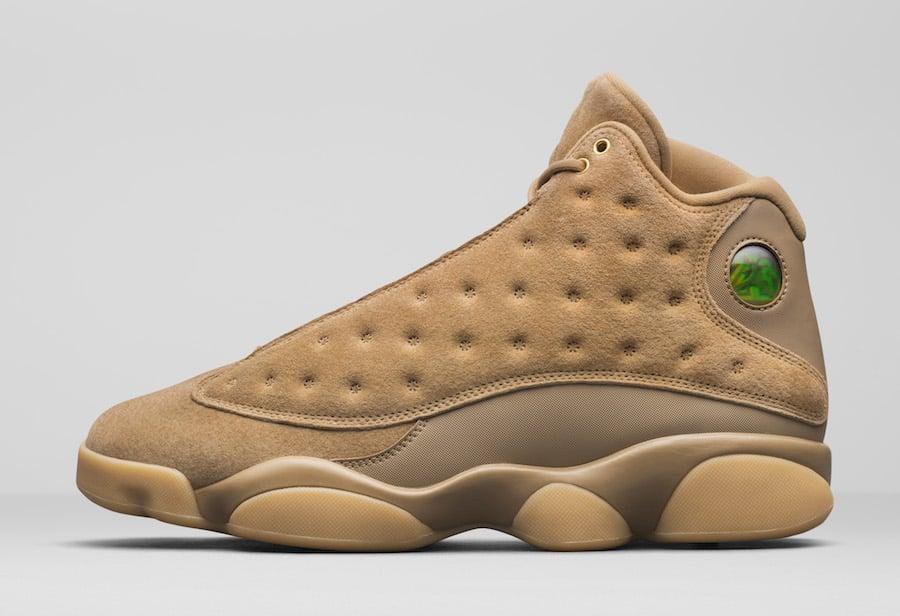 171b45db7b9164 Air Jordan 13 Wheat 414571-705 Release Date