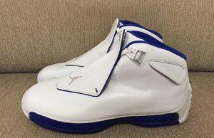 Air Jordan 18 Retro Sport Royal Wizards AA2494-106