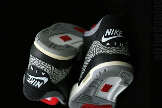 Air Jordan 3 OG Black Cement Retro 2018 Release Date