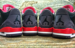 Air Jordan 3 Snakeskin Crimson Sample