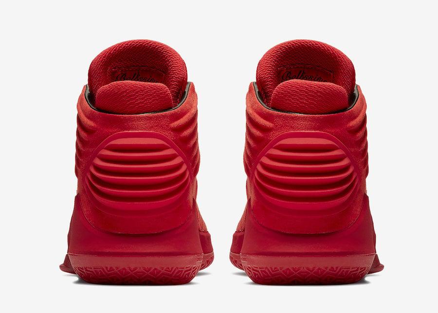 65b457e7d6edf9 Air Jordan 32 Rosso Corsa Gym Red Release Date