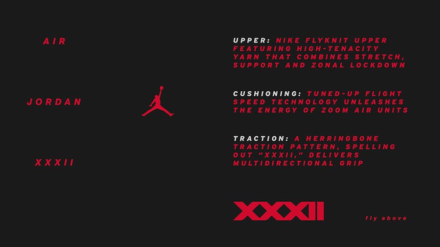 Air Jordan 32 Technology Info