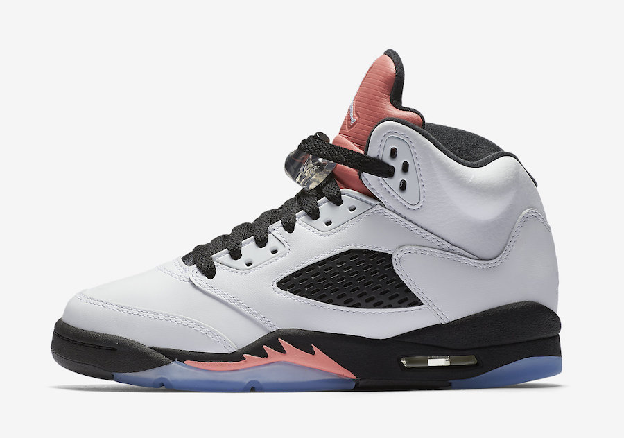 Air Jordan 5 GS Sunblush September 2017