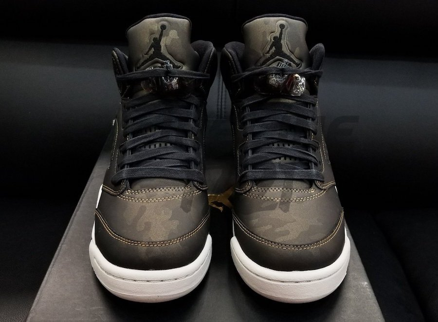 Air Jordan 5 Premium Heiress Metallic Field Release Date