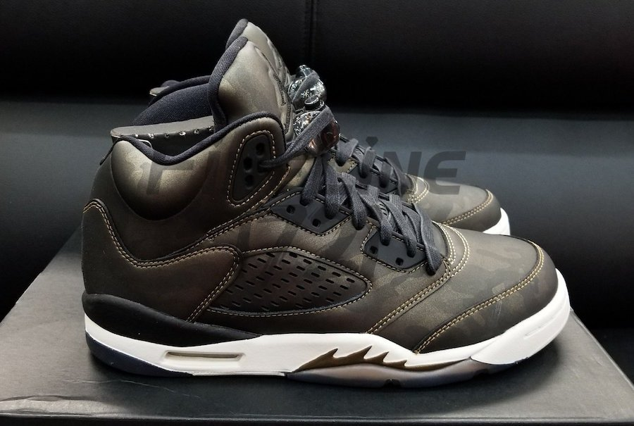 Air Jordan 5 Premium Heiress Metallic Field September 2017