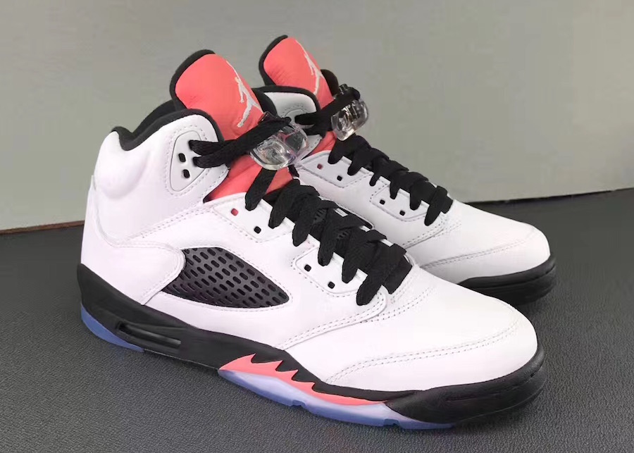 Air Jordan 5 Salmon Tongue Sunblush 440892-115