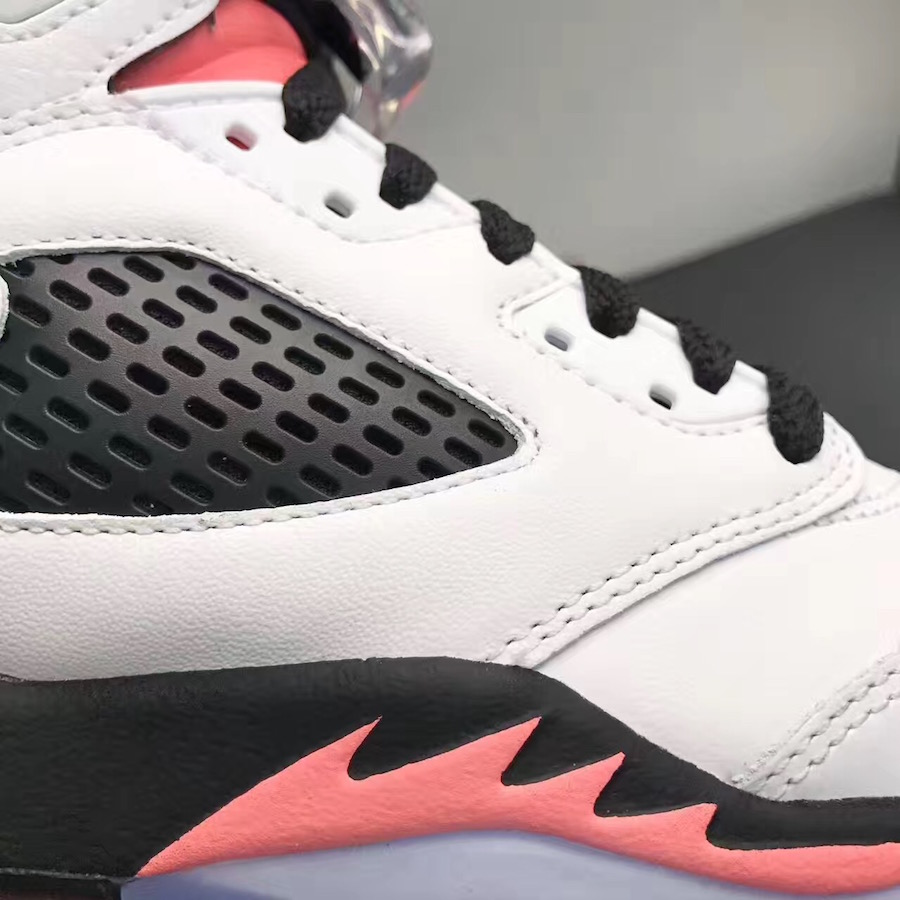 61df5f990cef9b Air Jordan 5 Salmon Tongue Sunblush 440892-115