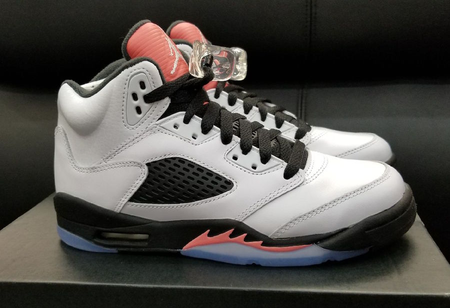 Air Jordan 5 Sunblush Release Date