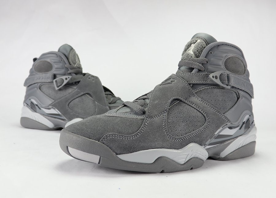 Air Jordan 8 Cool Grey Review On Feet