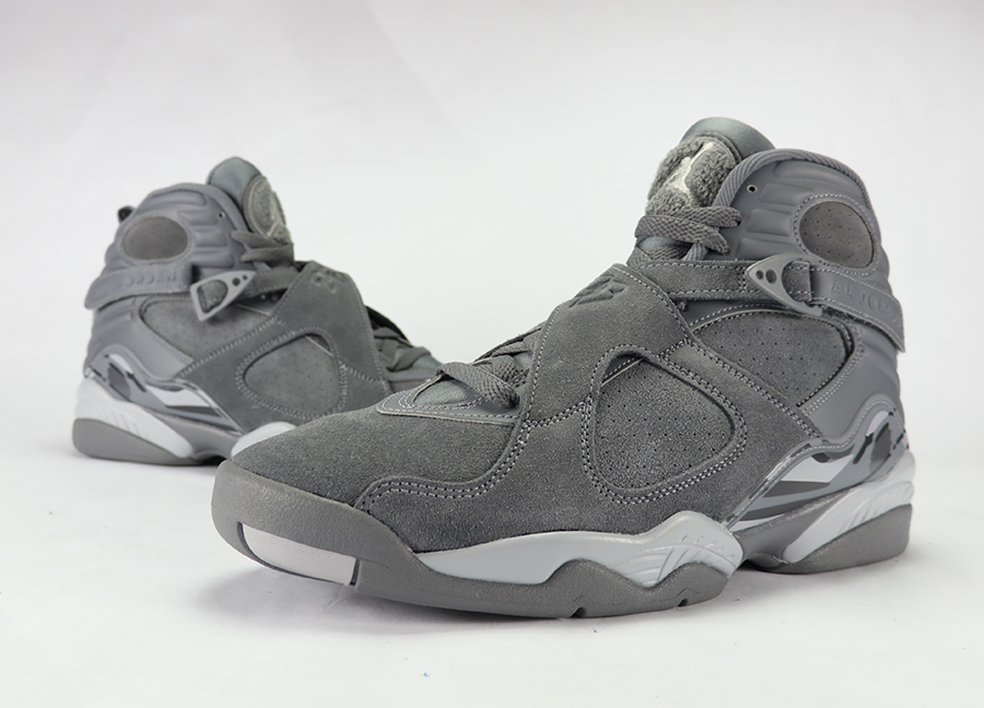 Air Jordan 8 'Cool Grey' Video Review
