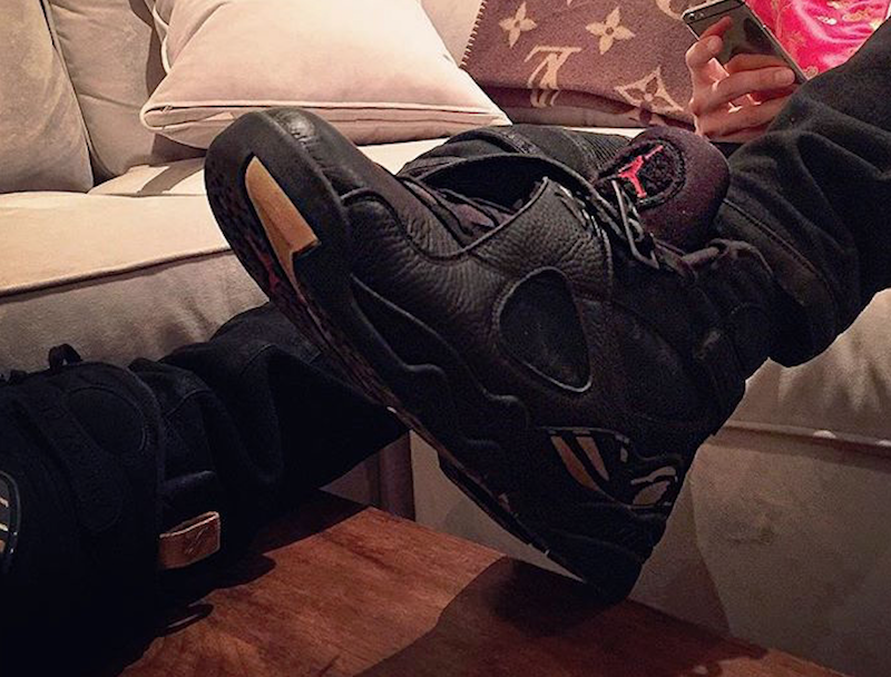 the latest 3a179 bd739 Air Jordan 8 OVO Black AA1239-045 Release Date | SneakerFiles