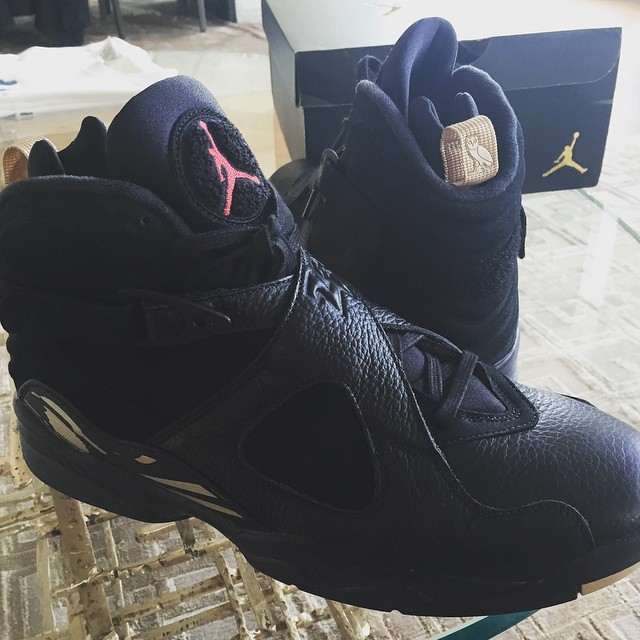 Air Jordan 8 OVO Black 2018 Release Date