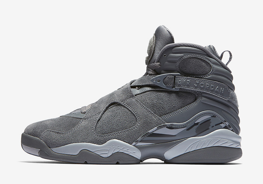 Air Jordan 8 Retro Cool Grey 305381-014
