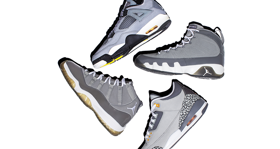 Air Jordan Cool Grey Collection