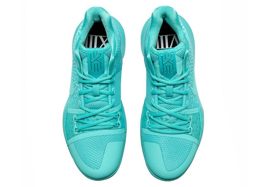 Aqua Nike Kyrie 3 852395-401