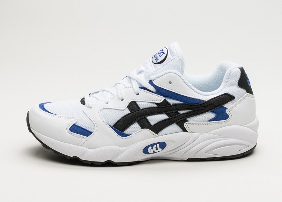 Asics Gel Diablo OG White Black Blue