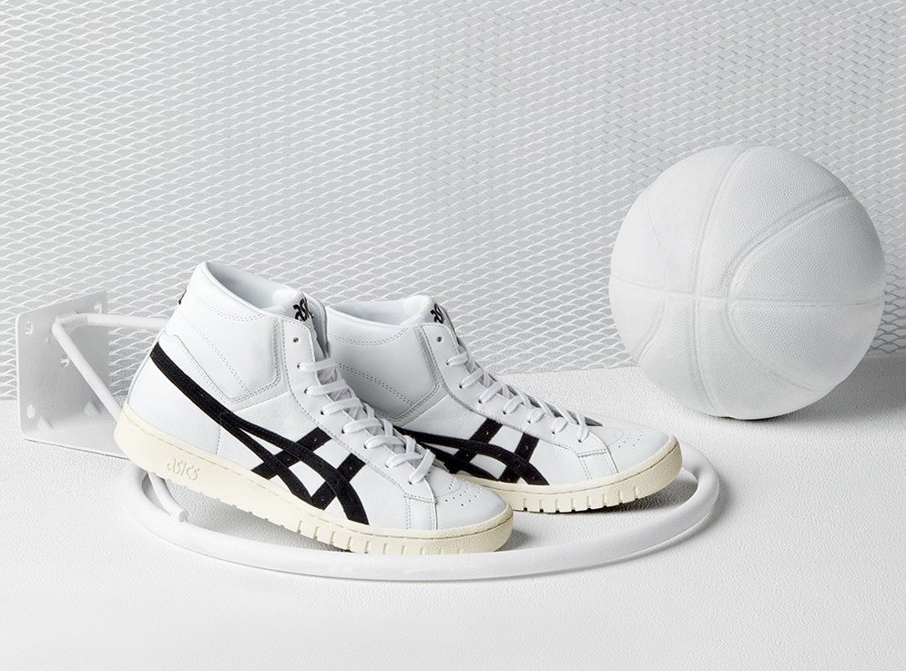 Asics Gel PTG-MT Mid Top White Black