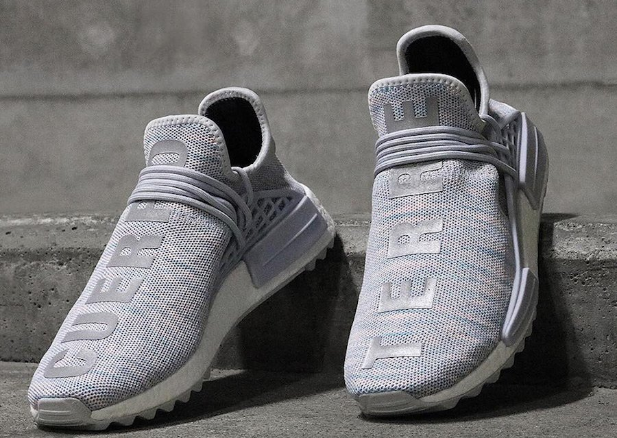 best authentic 8e8d6 cf62d Pharrell adidas NMD Human Race Trail Cotton Candy | SneakerFiles