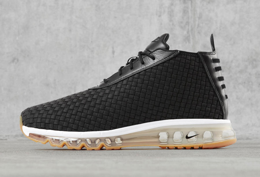 Black Gum Nike Air Max Woven Boot 921854-003