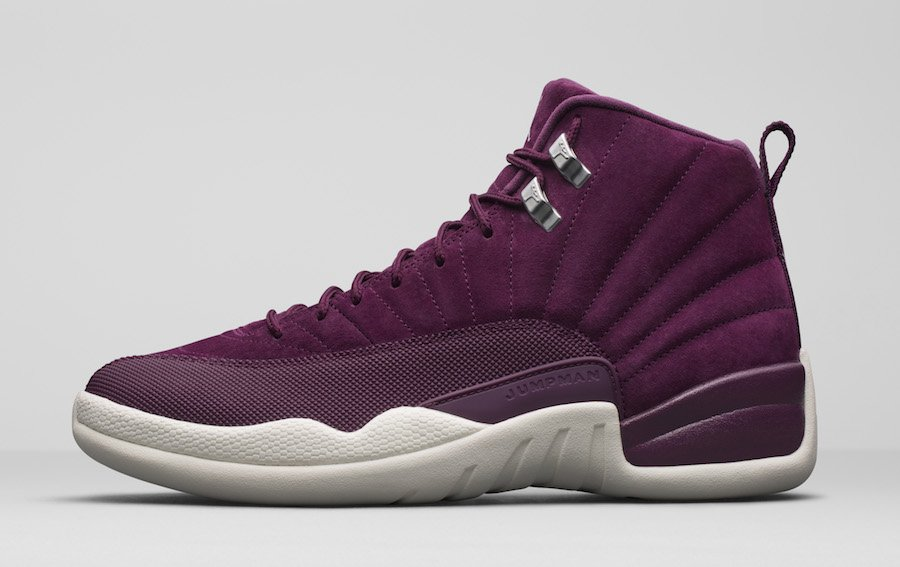 purple jordans retro 12