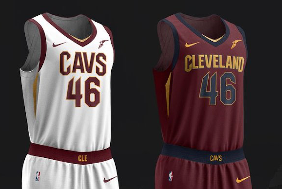 Cleveland Cavaliers Nike Uniforms