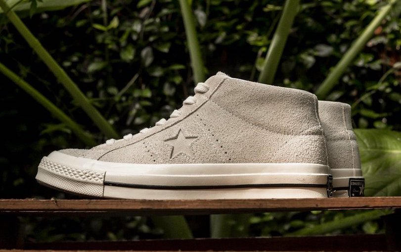 Converse One Star Mid Egret