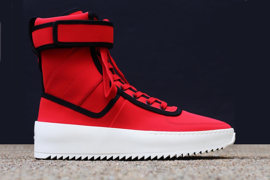 Fear of God Military Sneaker Infrared