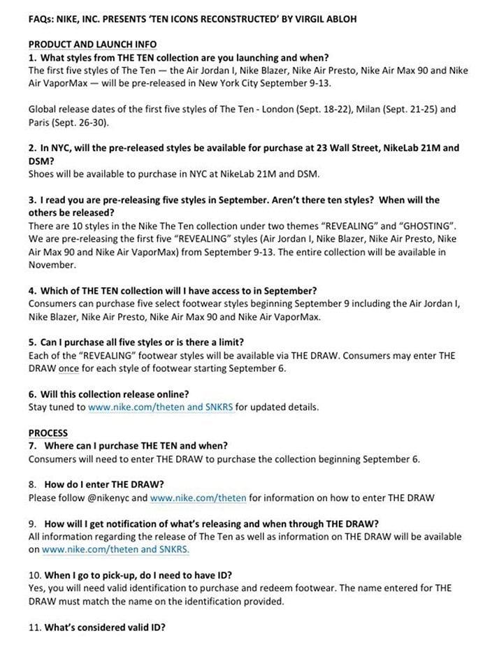 How to Buy OFF-WHITE Nike Air Jordan 1