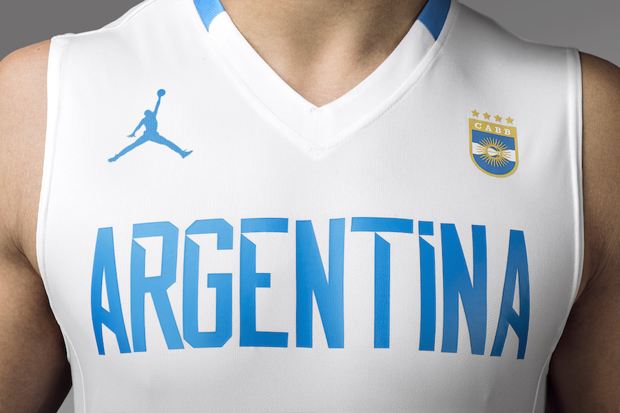 Jordan Brand Argentina Basketball Uniform