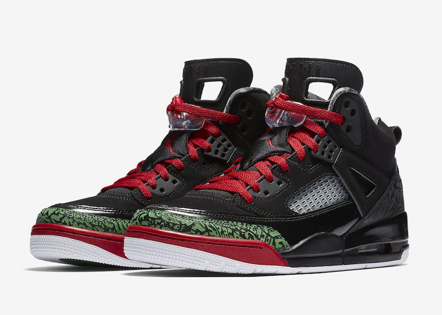 Jordan Spizike OG Black Red Green 315371-026