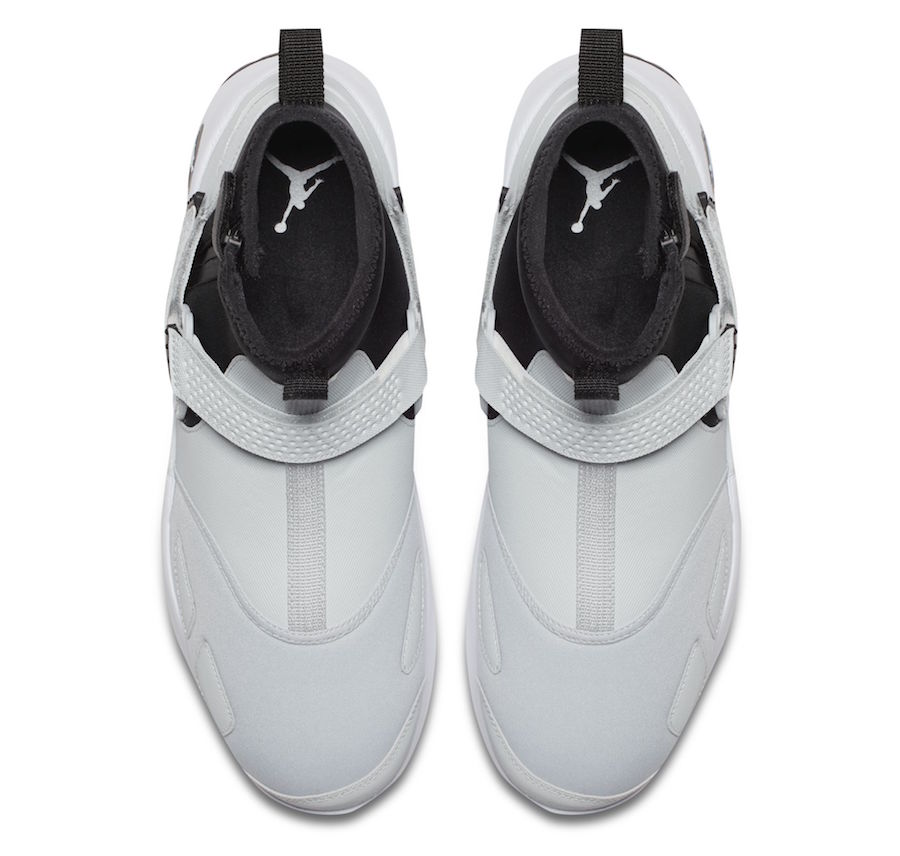 Jordan Trunner LX High White Black