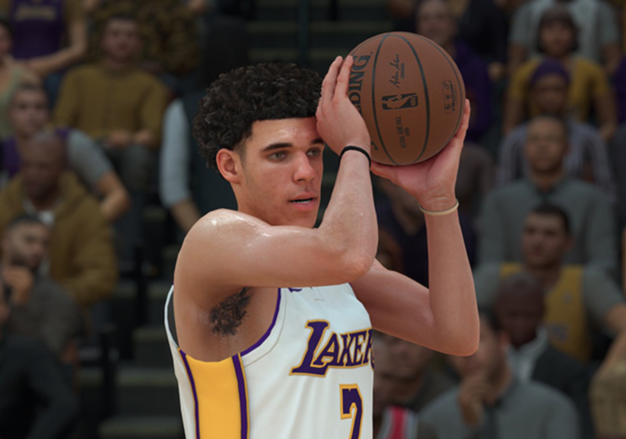 Lonzo Ball Big Baller Brand Shoes NBA 2K18