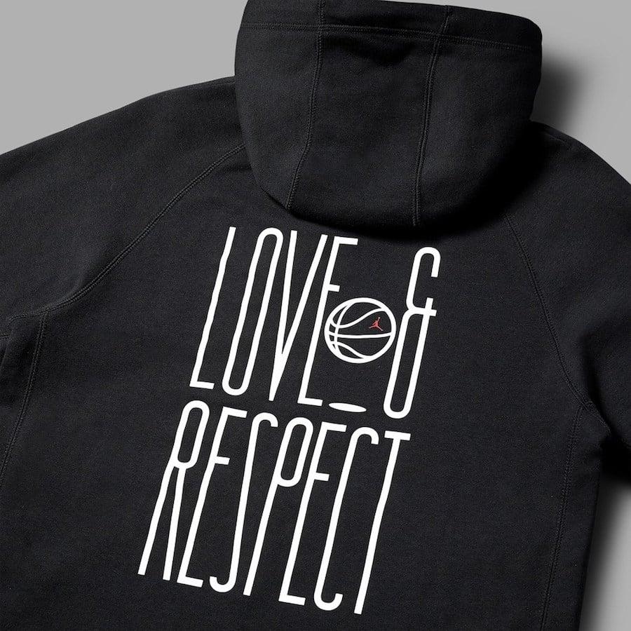 Love Respect Air Jordan Hoodie