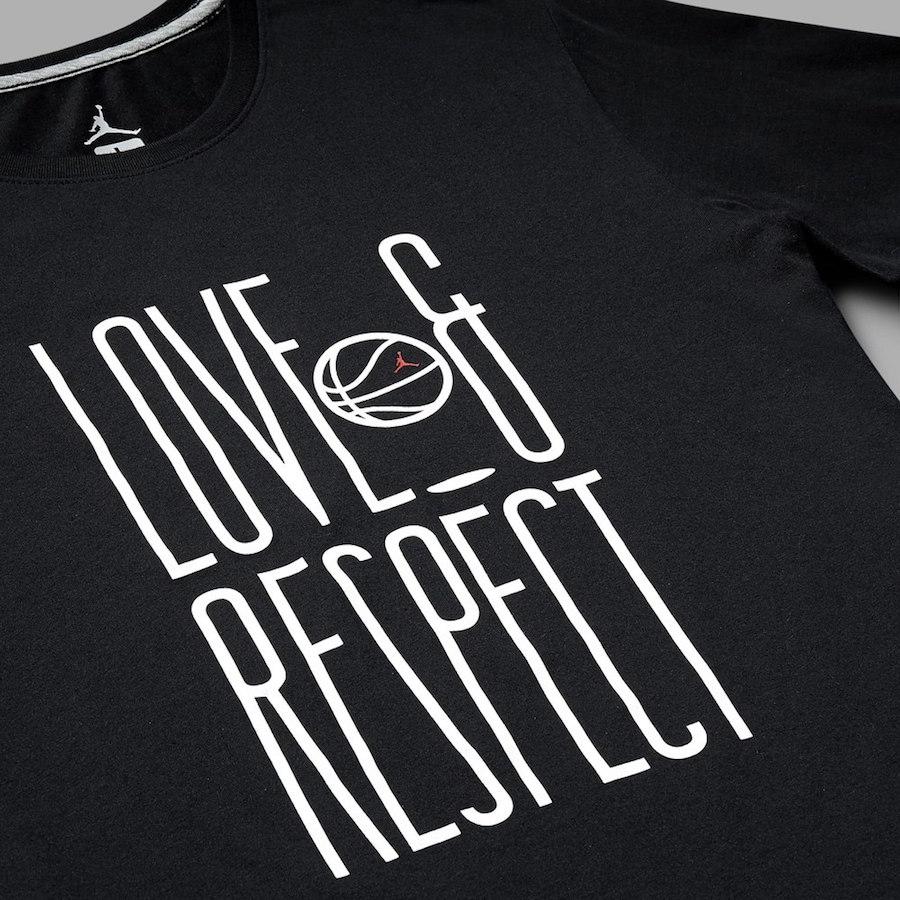 Love Respect Air Jordan T-Shirt