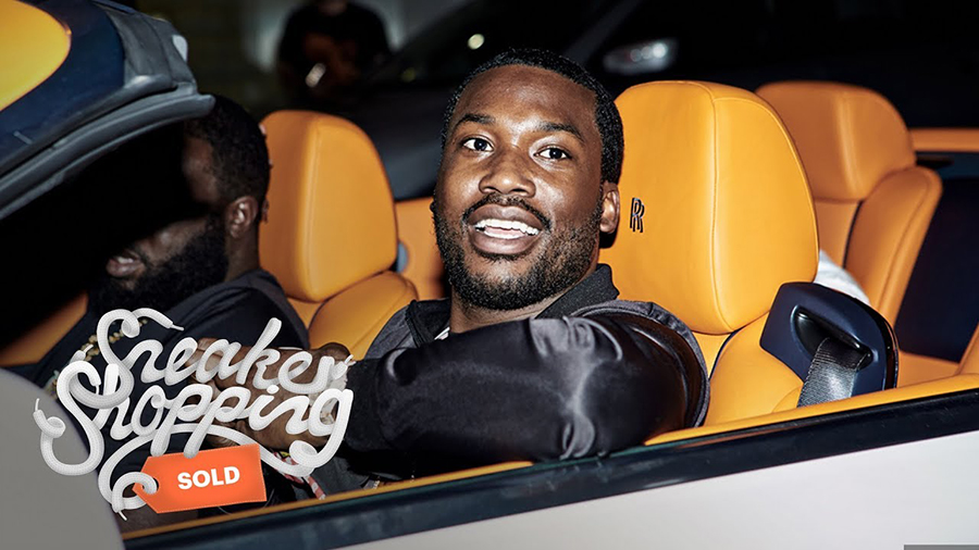 Meek Mill Sneaker Shopping