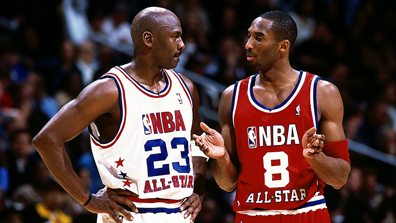 Michael Jordan Kobe Over LeBron
