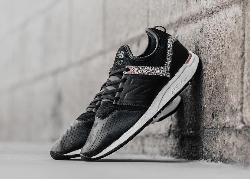 New Balance 247 Black Leather Pebble | SneakerFiles