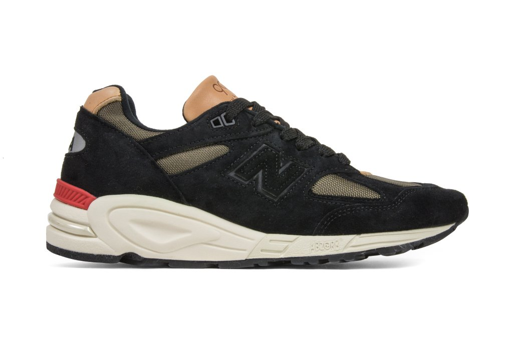New Balance 990 Made in USA Black Green