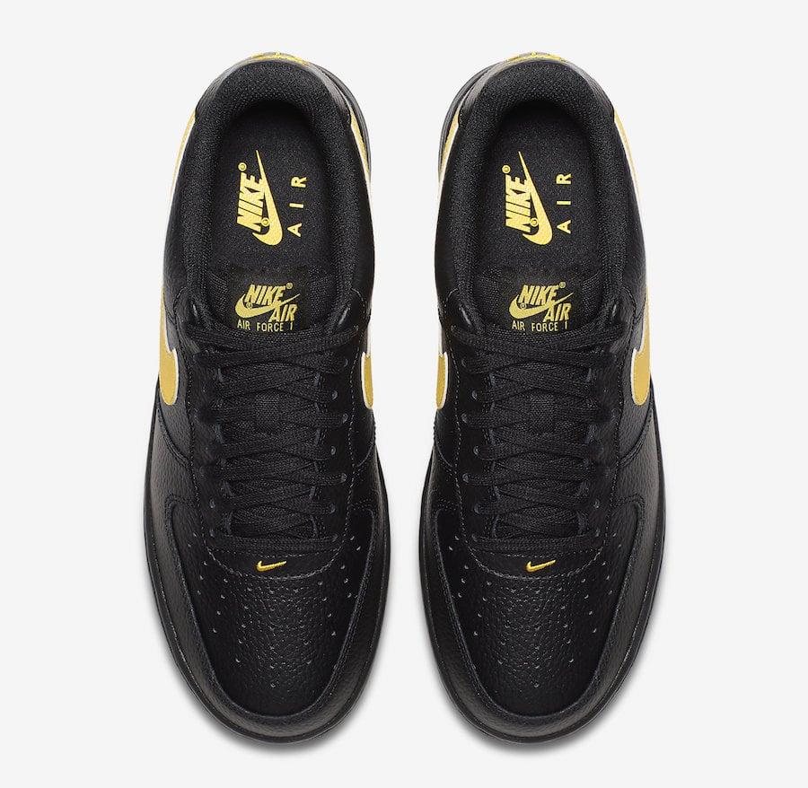 Nike Air Force 1 07 LV8 Low Black Amarillo