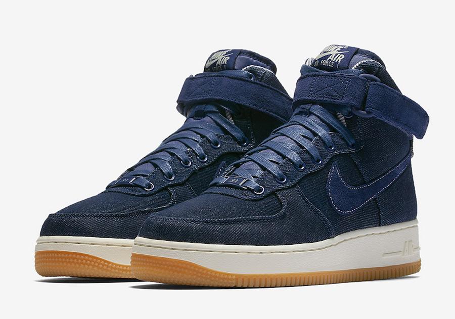 Nike Air Force 1 High Denim Gum