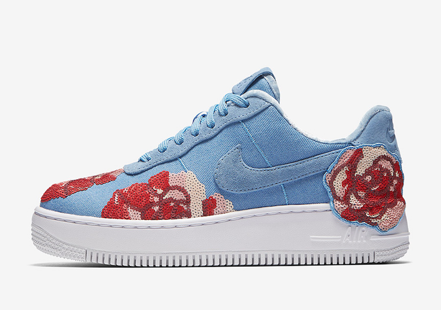 Nike Air Force 1 Low Floral Sequin Pack