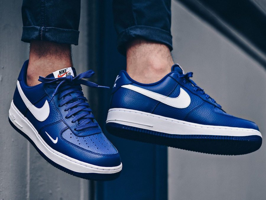 Nike Air Force 1 Low Mini Swoosh Royal Blue
