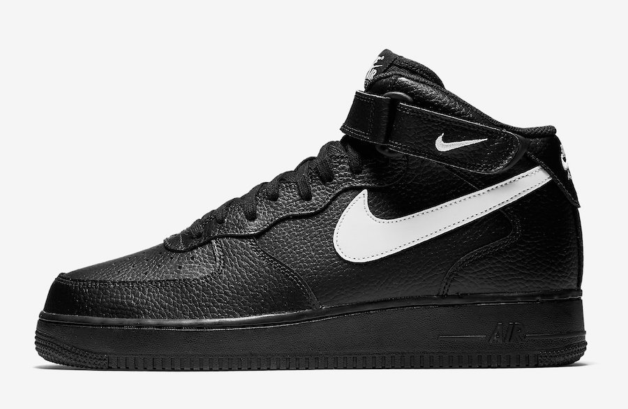 Nike Air Force 1 Mid 07 Black Sail Release Date