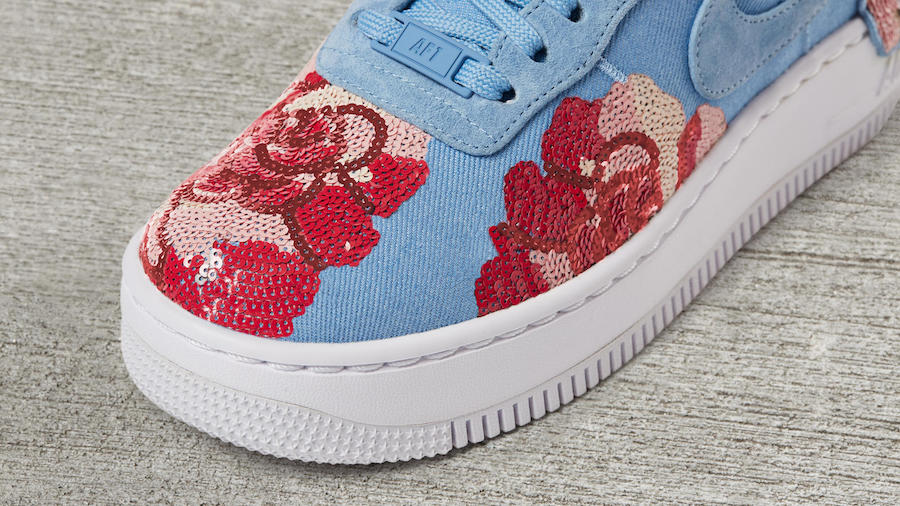 Nike Air Force 1 Upstep Low LX Rose Pack