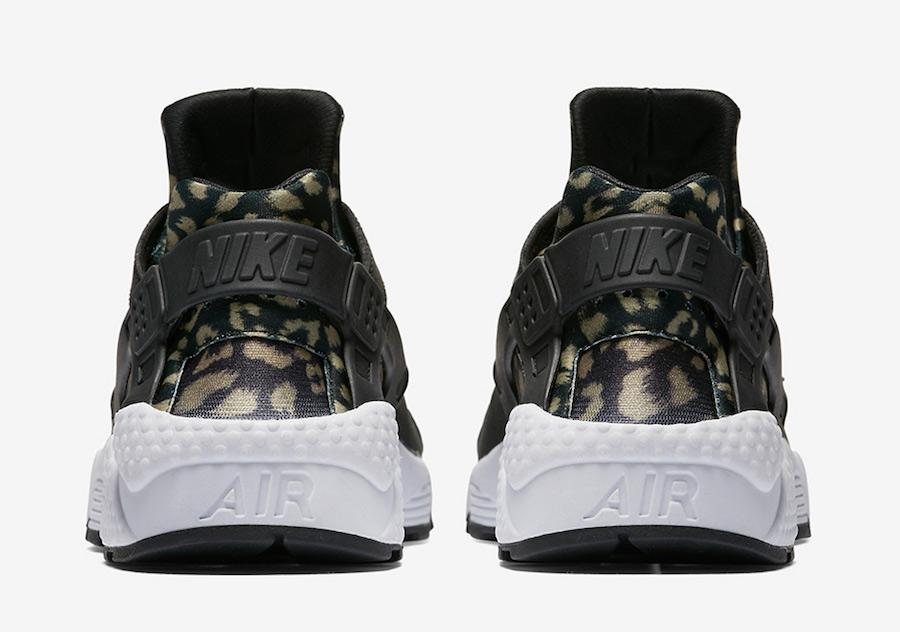 132ae84e3c3 Nike Air Huarache Leopard Black 725076-007