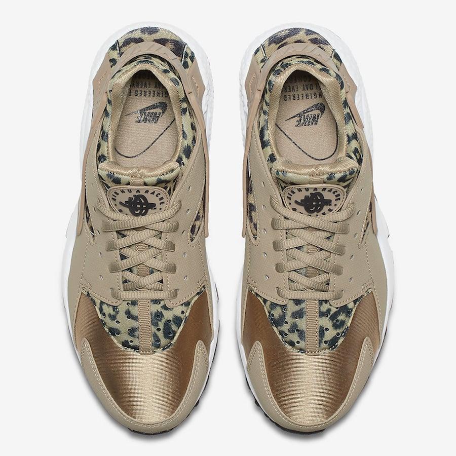 nike air huarache leopard print