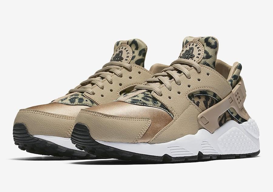 Nike Air Huarache Leopard Khaki 725076,200