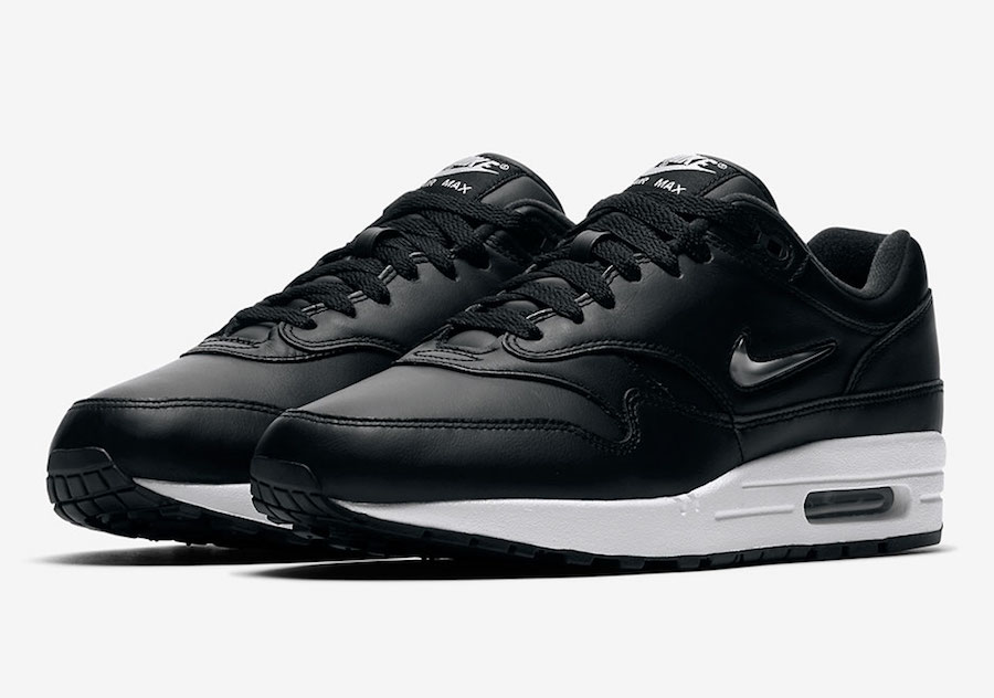 Nike Air Max 1 Jewel Metallic Swoosh 918354-001
