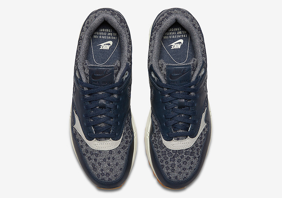 Nike Air Max 1 Premium Midnight Navy Release Date